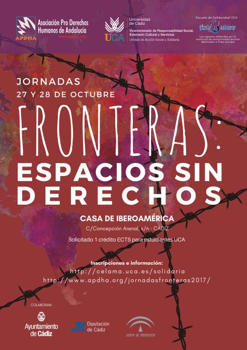 Jornadas Fronteras - Cartel
